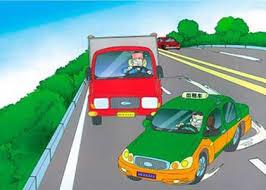昱全道路駕駛-讓速不讓道原則