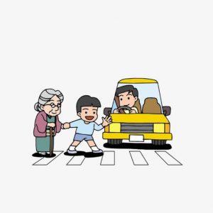 昱全道路駕駛-禮讓行人