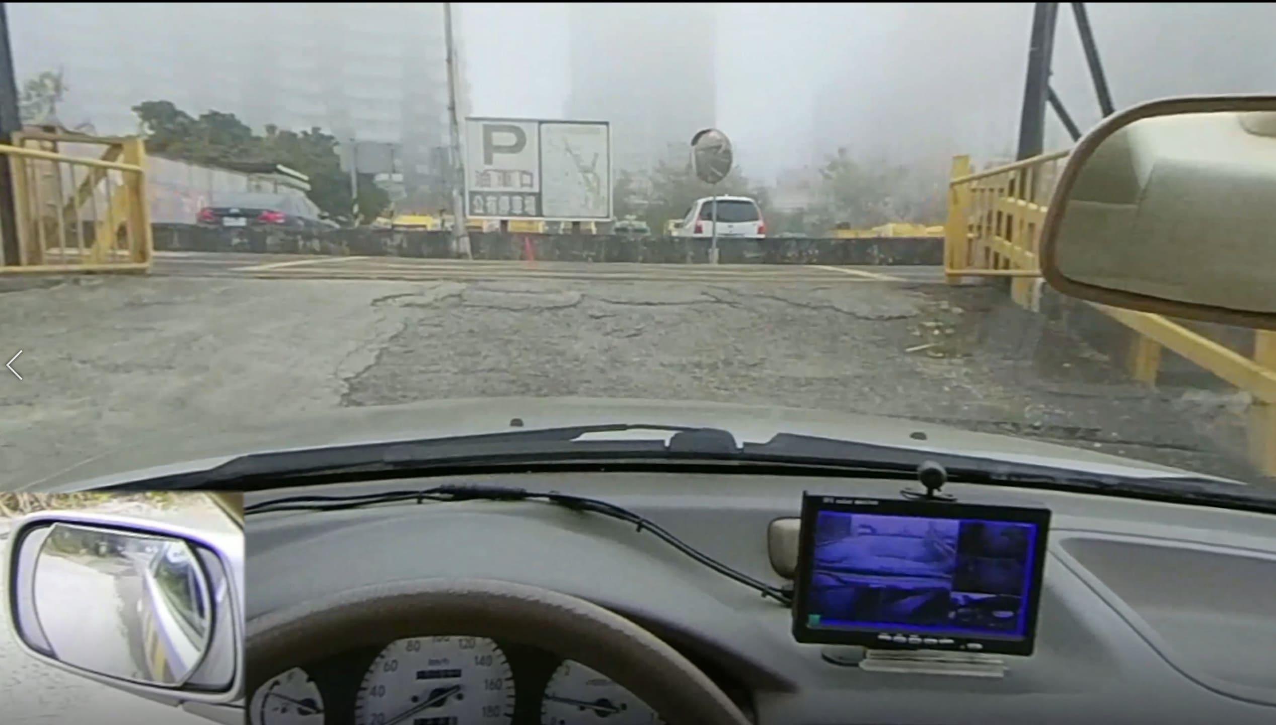 道路駕駛路口一